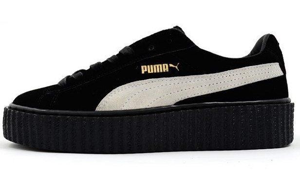 Кроссовки Rihanna x Puma Suede Creeper
