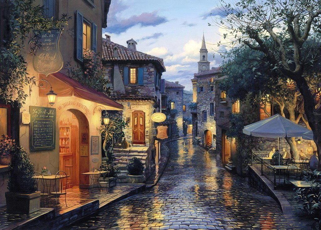 Картинки красивые старинные города, годом работы