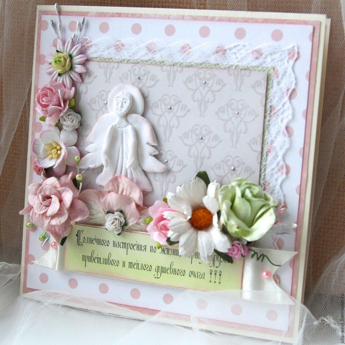 Пасхальные открытки скрапбукинг с ангелами, поздравления днем рождения