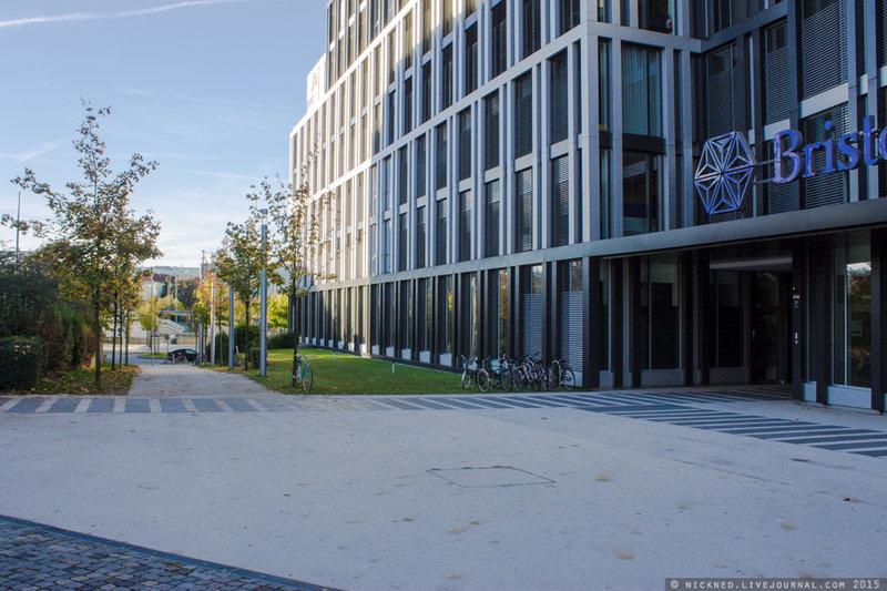 Штаб-квартира компании Бристоль в Мюнхене