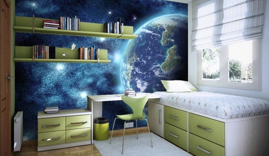 фотообои вид из космоса для детской комнаты мальчика картка