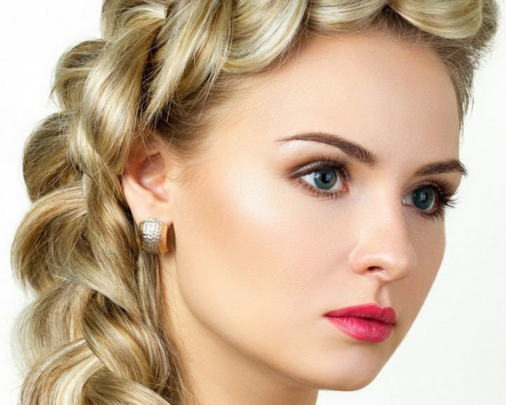 Свадебный макияж для зеленых глаз и русых волос