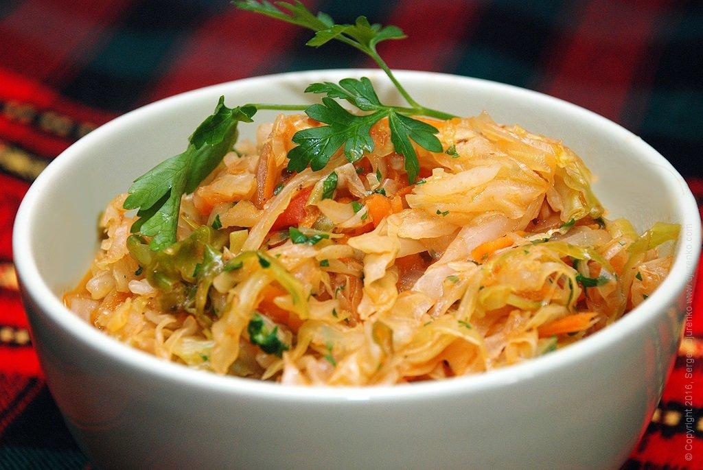 блюда из капусты без мяса
