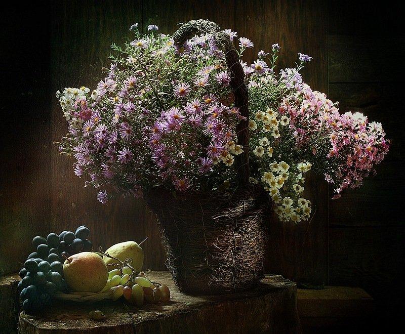 фотографии цветов натюрморты под старину былые