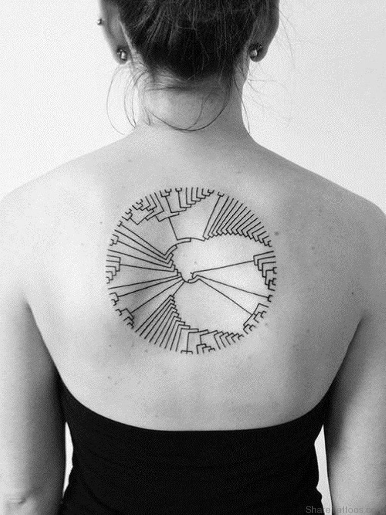 101 geometrically gorgeous minimalist tattoo ideas - HD 768×1024