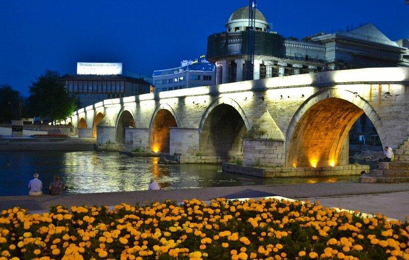 Каменный мост, Скопье