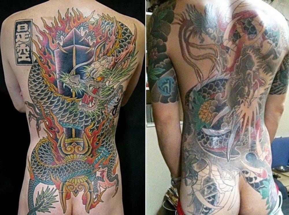 праститутка в аду наколка японская