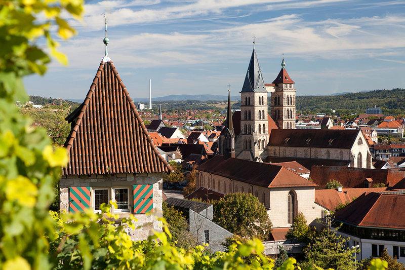 Штутгарт -  город старинных зданий и улиц