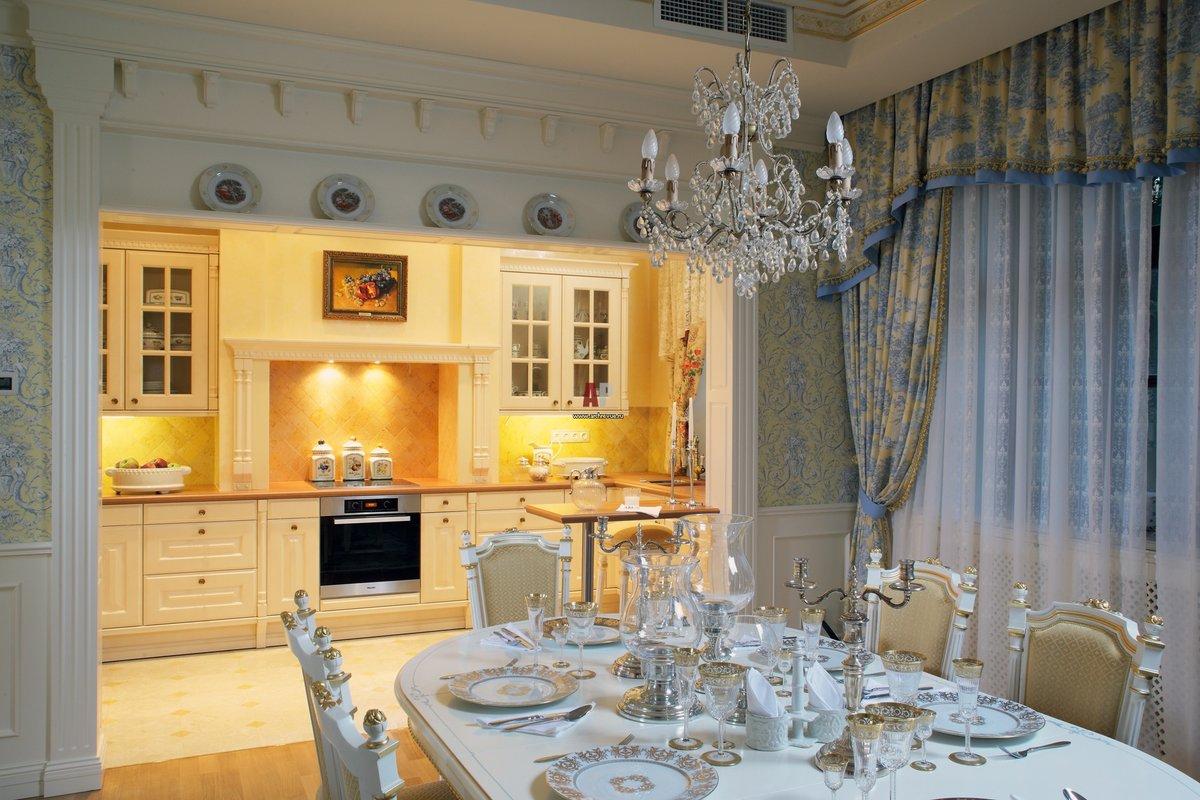 фото кухонь столовых опалом минеральными