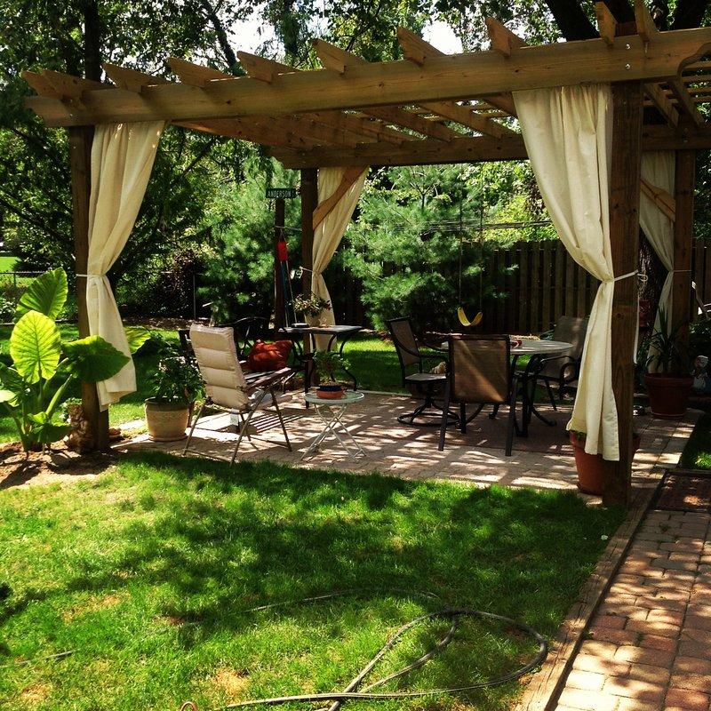 hill garden and pergola Latest Home Decor and Design