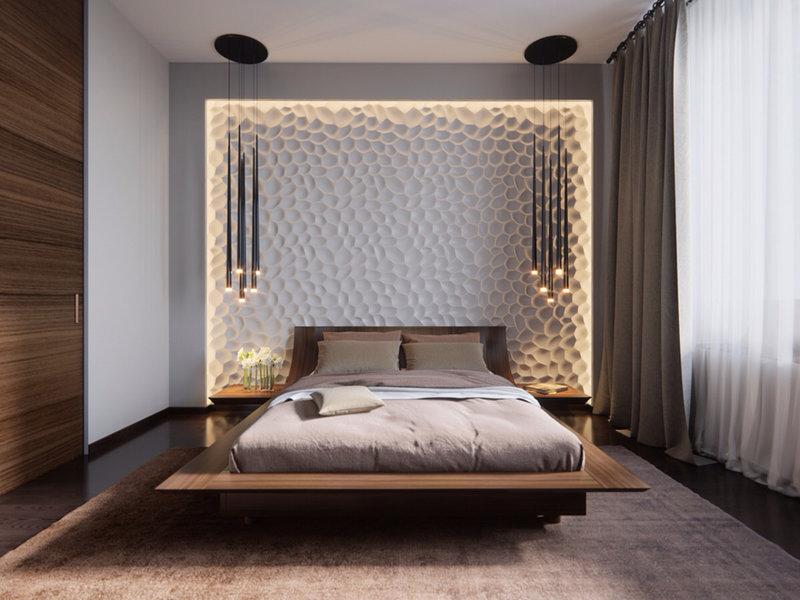 Фото стильный дизайн спальни
