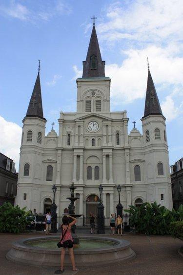 собор святого людовика новый орлеан