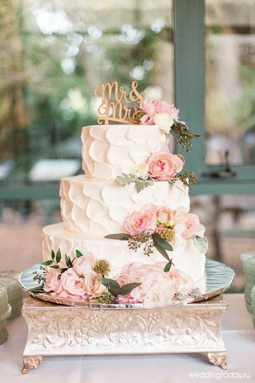 Торт на свадьбу трехъярусный фото