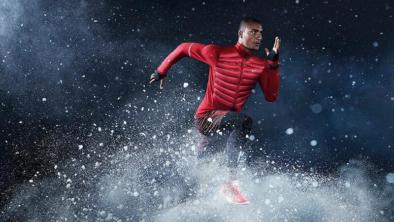 Бег зимой по утрам для похудения или поддержания формы.