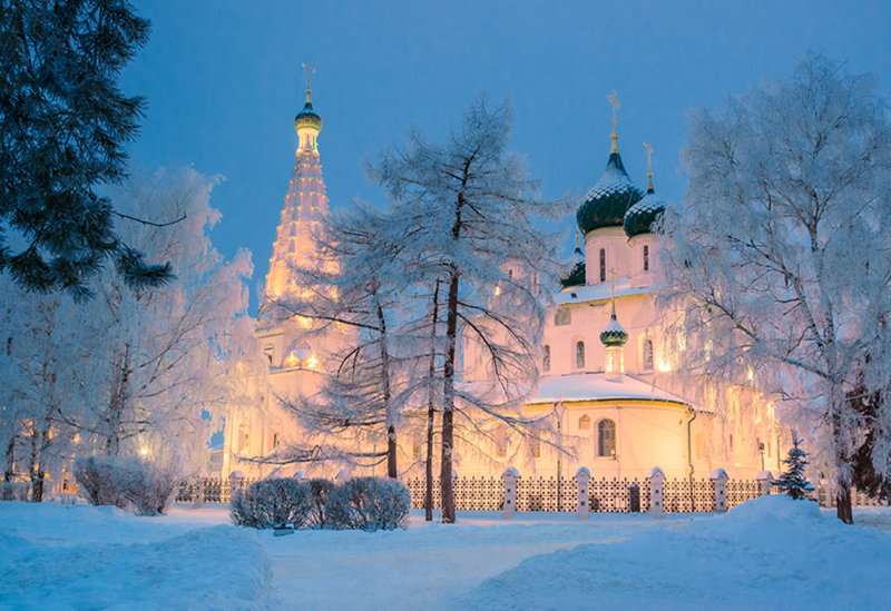 Фото зимнего ярославля