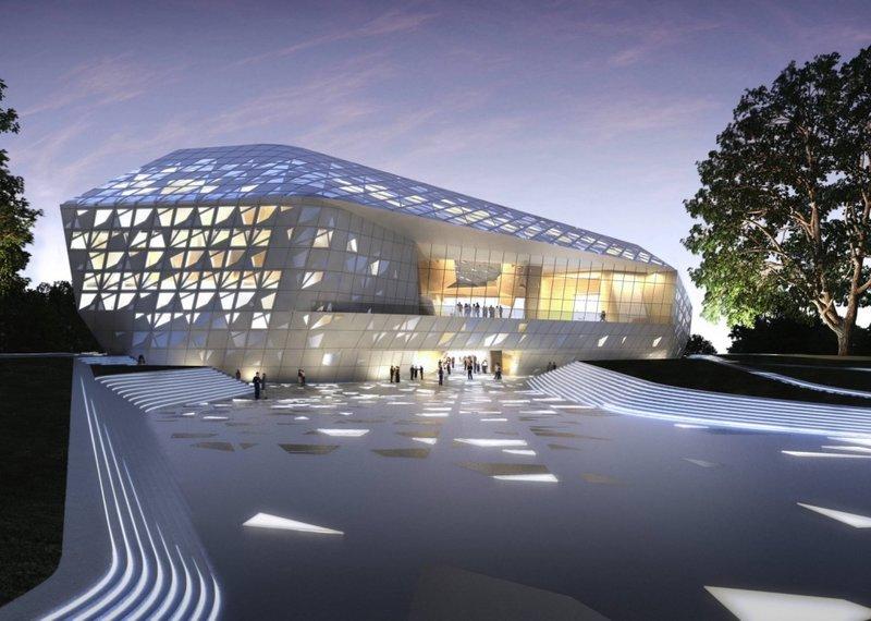 Фестивальный комплекс  имени Бетховена, располагающийся в г. Бонне, Германия.