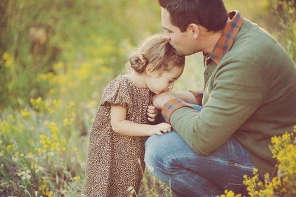 Открытки юбилею, картинки на тему отец и дочь