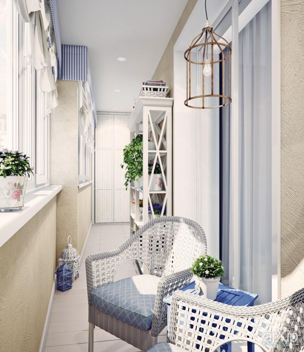 """Обустройство балкона в стиле прованс"""" - карточка пользовател."""