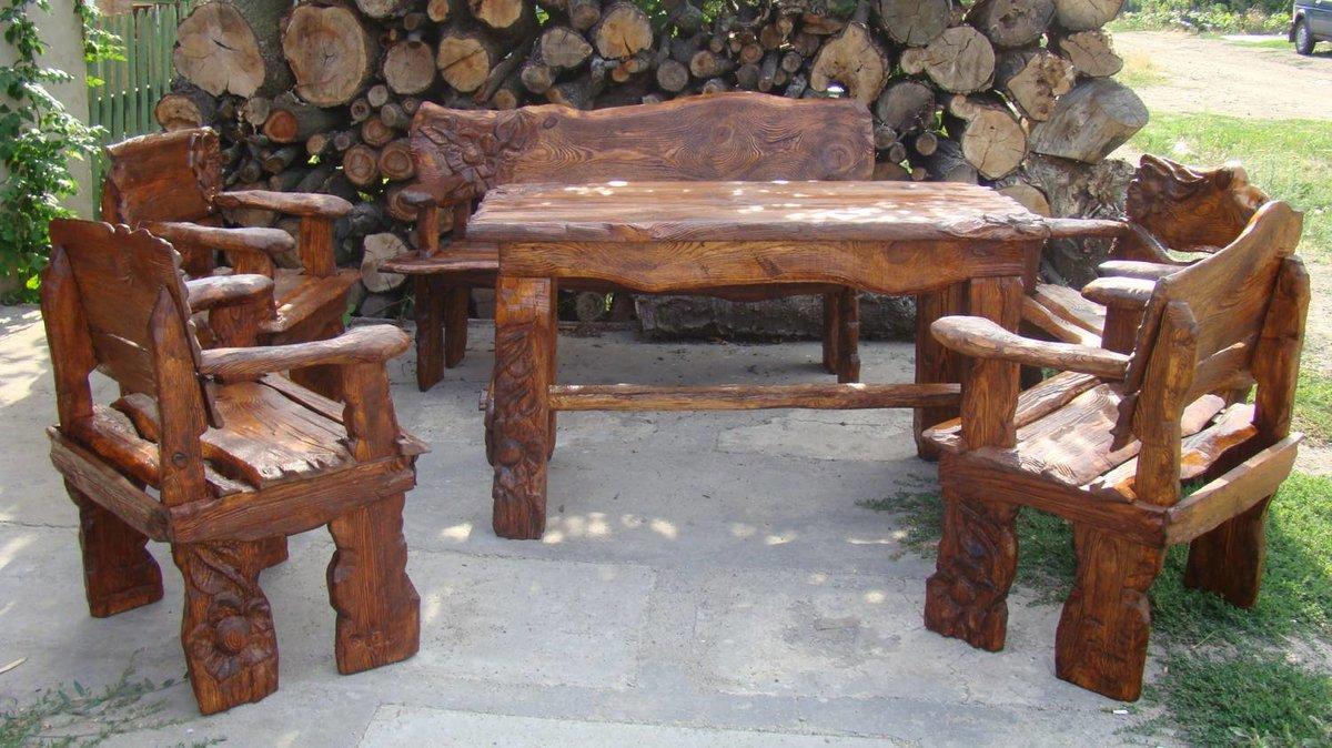 это эксклюзивные изделия из дерева под старину фото готовили