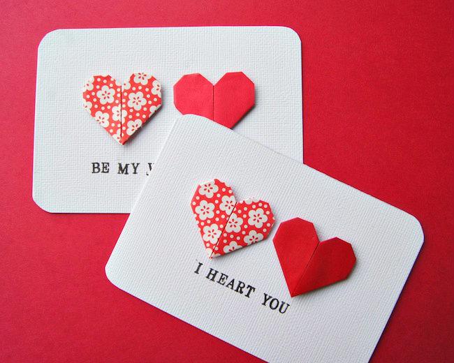 Валентинки открытки оригами, юбилеем дедушка
