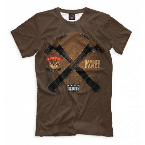 Мужская футболка 3D Hammer Dance