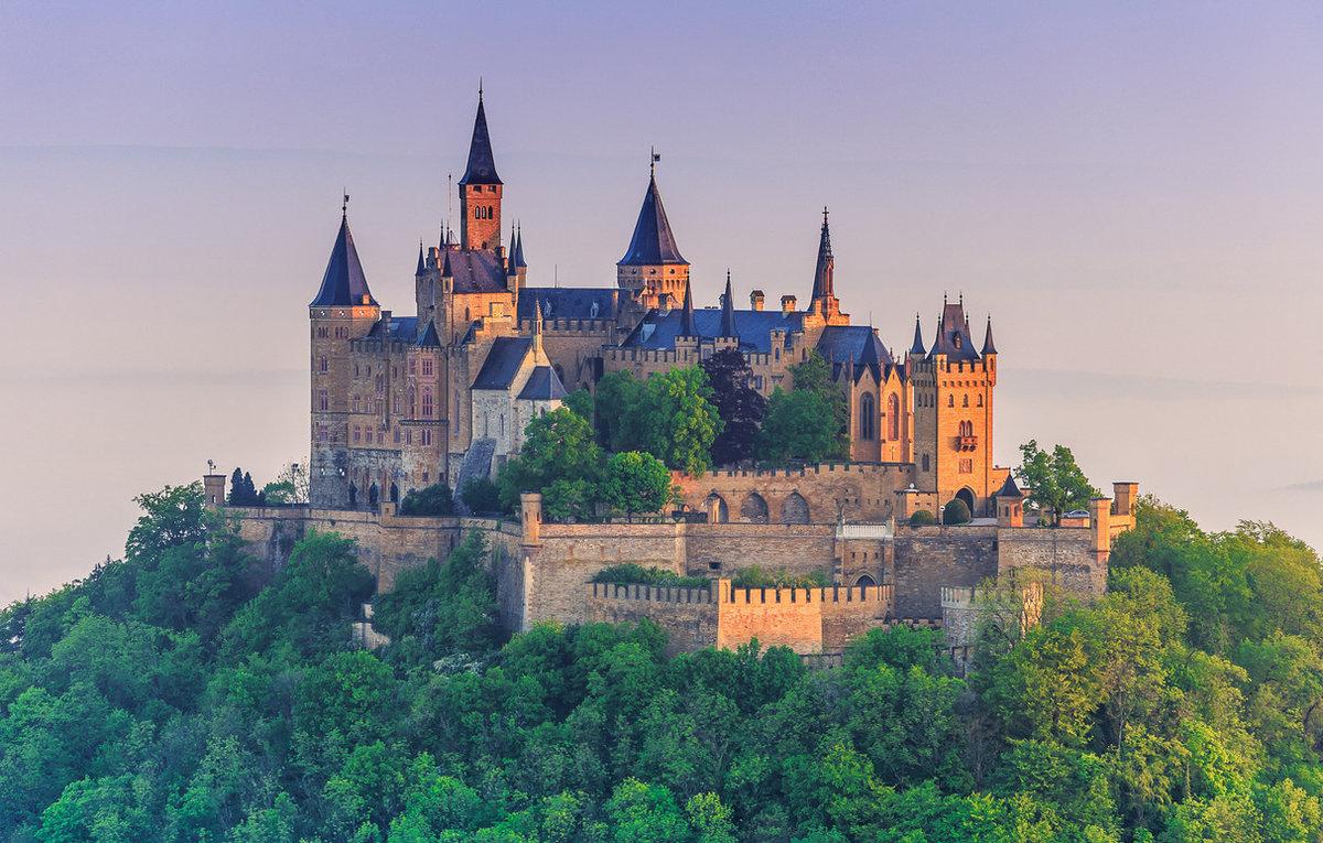 Красивейшие замки мира фото