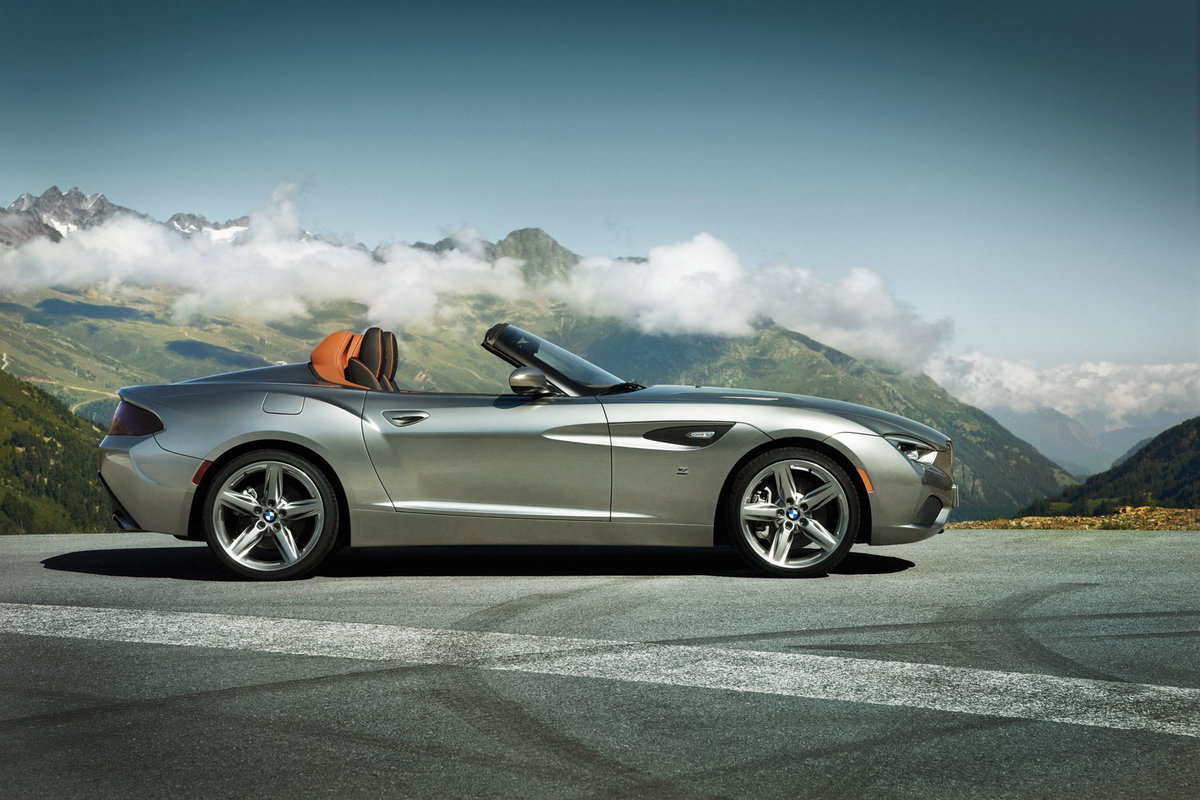 Quot Bmw Zagato Roadster вид сбоку Quot Card From User Kimenjer