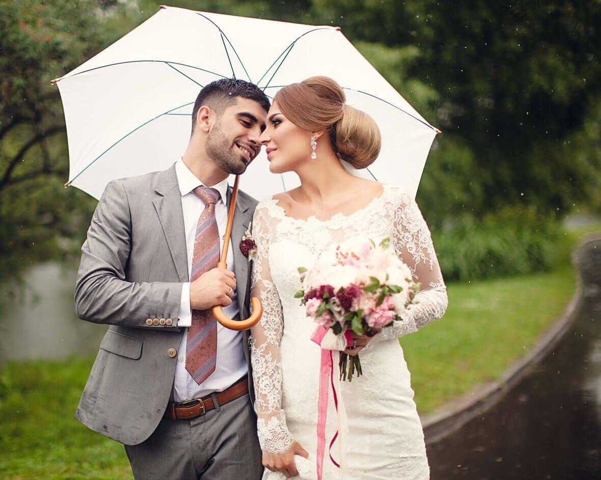 зонт для свадебной фотосессии кто предложил идею