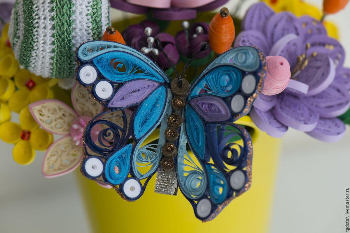 Бабочки квиллинг картинки