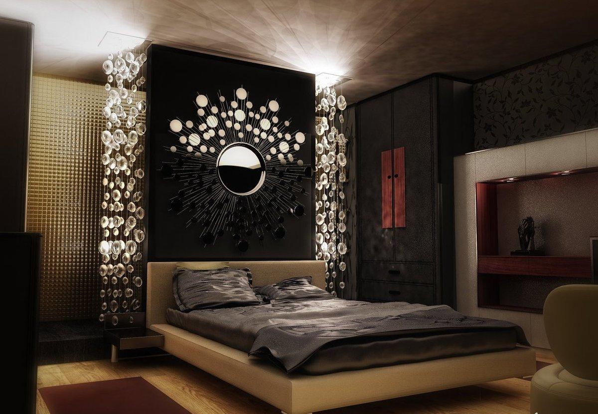Как Сделать Интимной Спальню