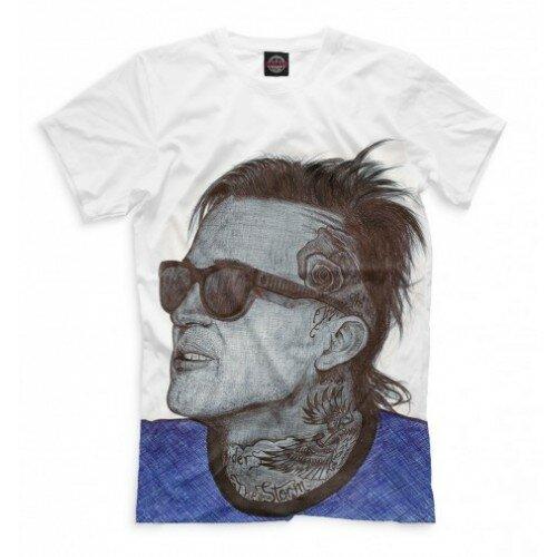 Мужская футболка 3D Yelawolf