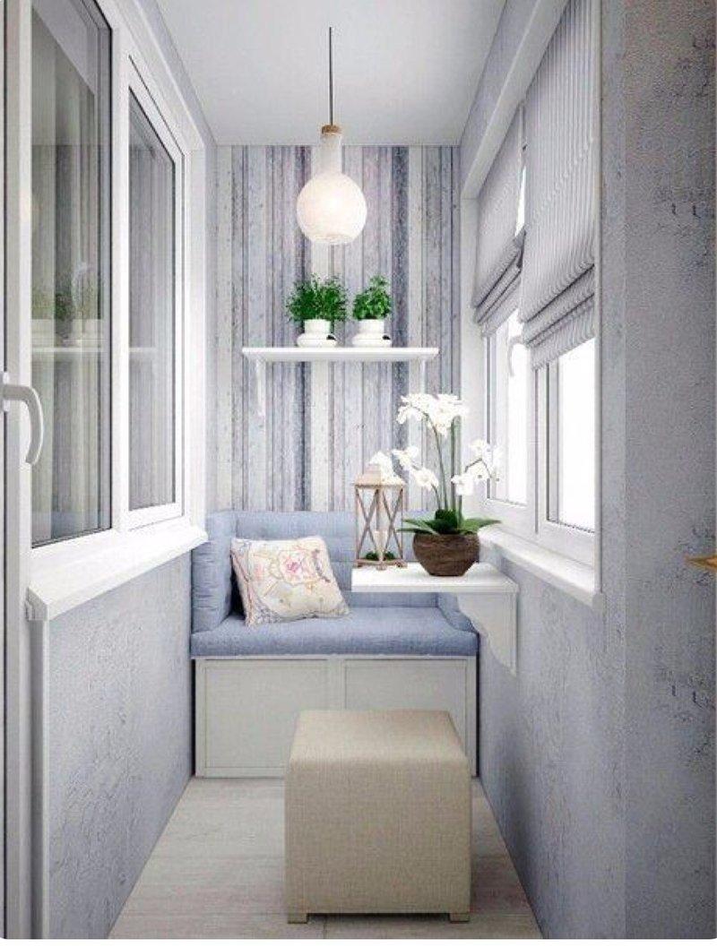 Креативные идеи для стильного балкона (21 фото) . Чёрт побер.