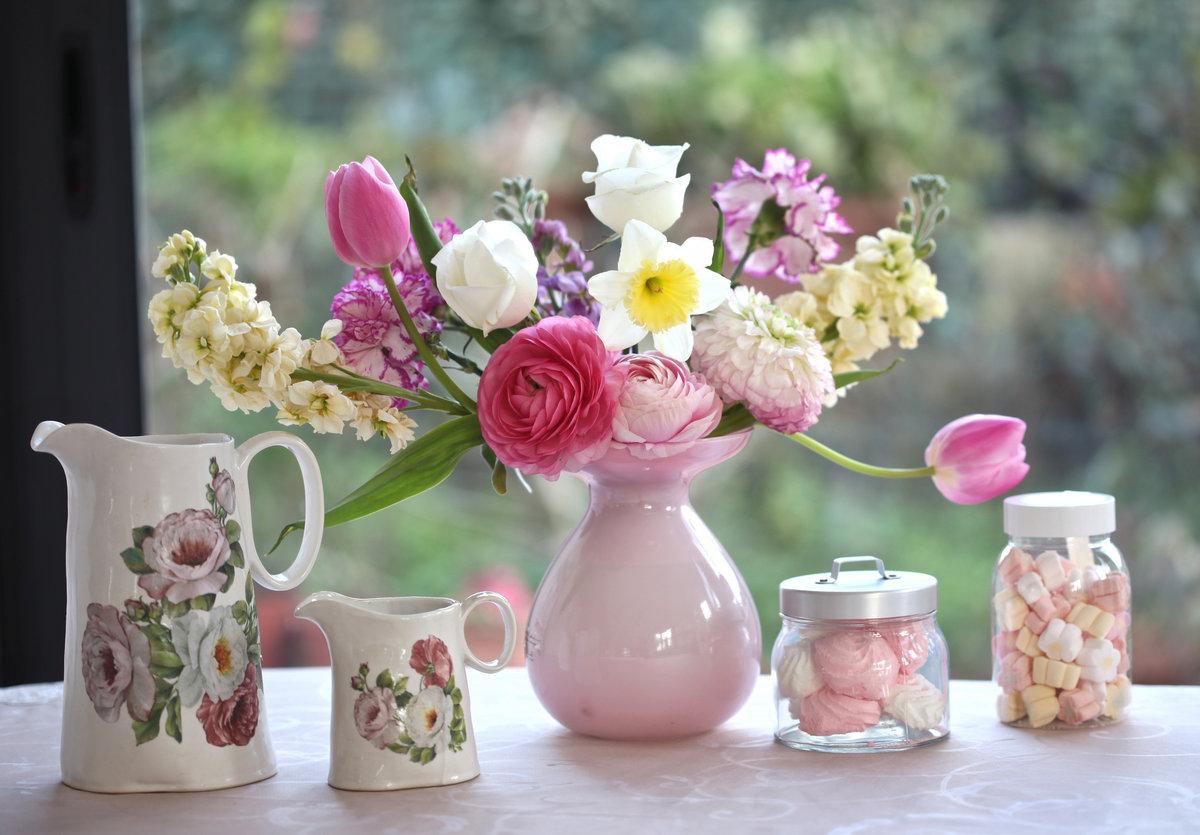 Картинки доброе утро с цветами необычные, открытки