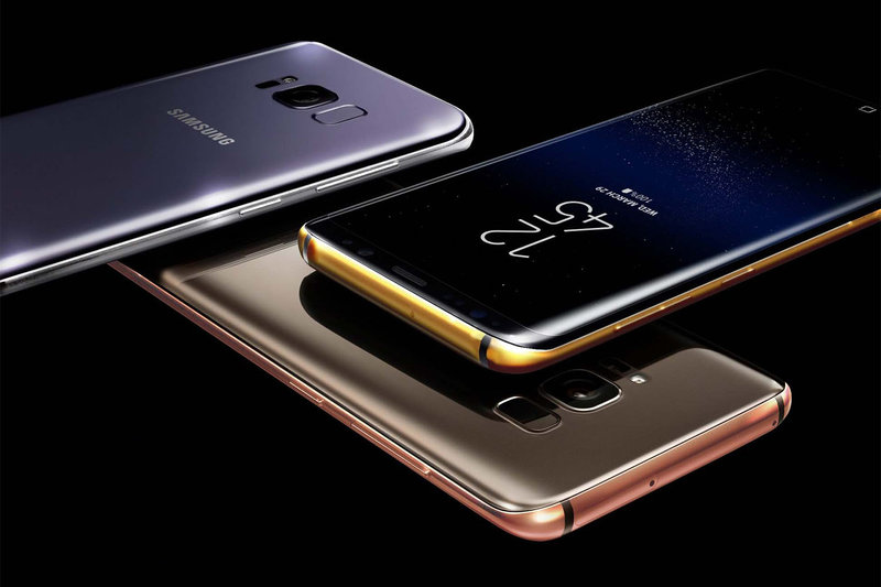 Гаджеты — Jewellery Mag Samsung Galaxy S8 и S8+ в золоте и платине