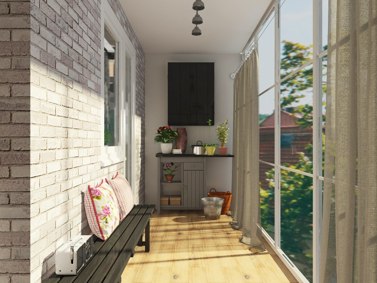 Уникальная коллекция дизайнерских идей для балкона.