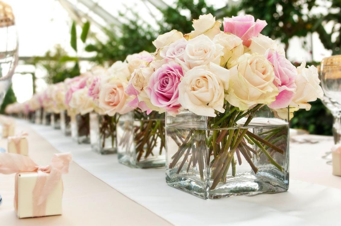 Букеты, где купить цветы для украшения свадебного