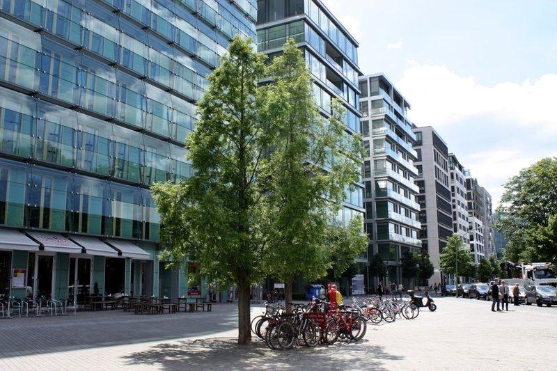 Офисные комплексы вокруг Потсдамерплац в Берлине