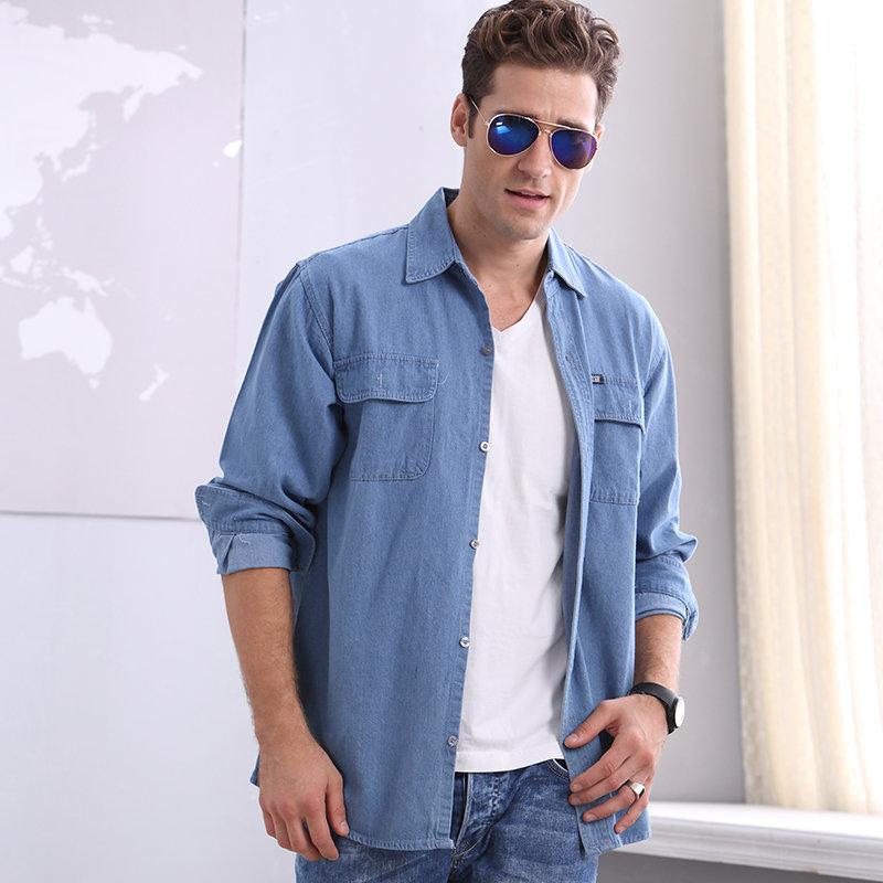 Легкая мужская рубашка
