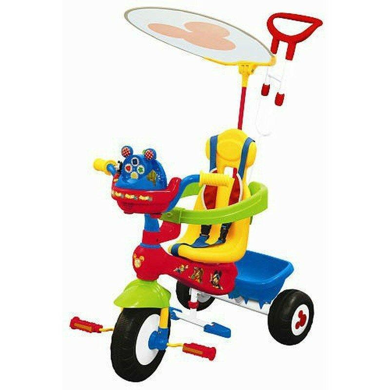 """Купить Велосипед 3-колесный """"Микки Маус"""" (бренд «KIDDIELAND», артикул KID 047464) в Интернет-магазине «Миллион Игрушек» за 6 148 руб"""