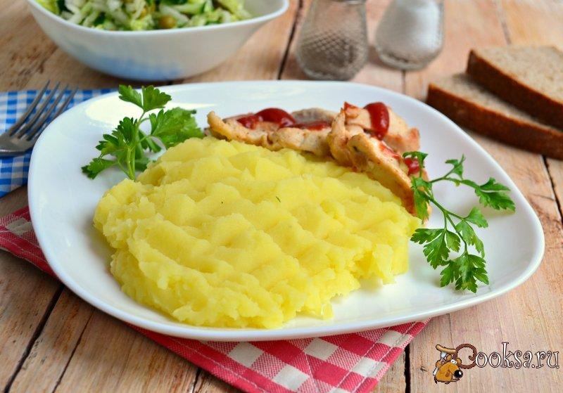 Салат из пюре картофеля