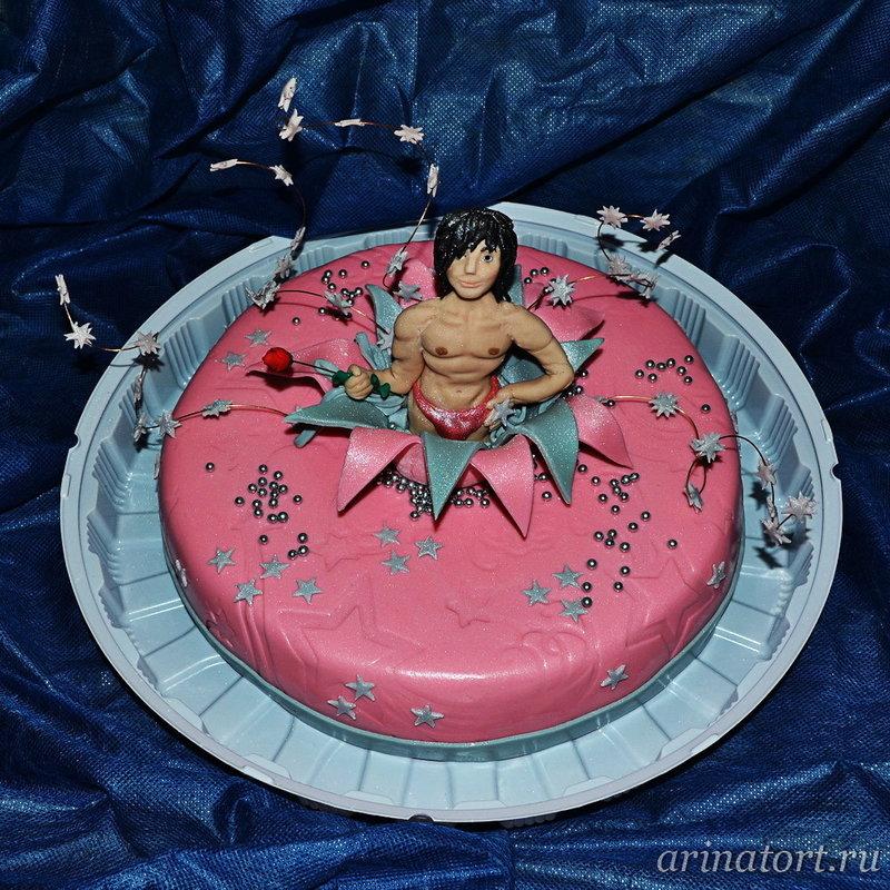 Торт на девичник Маугли