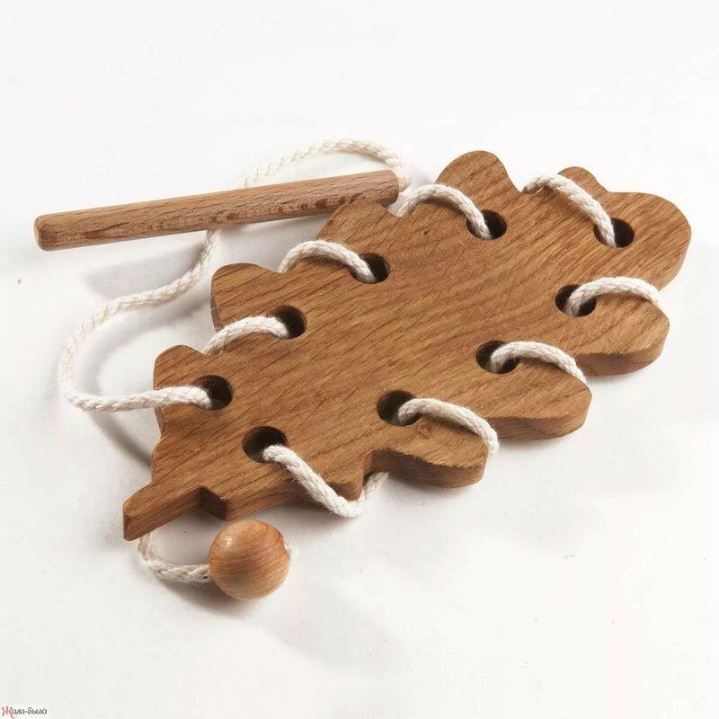 Деревянные шнуровки для девочек купить в интернет-магазине Ж