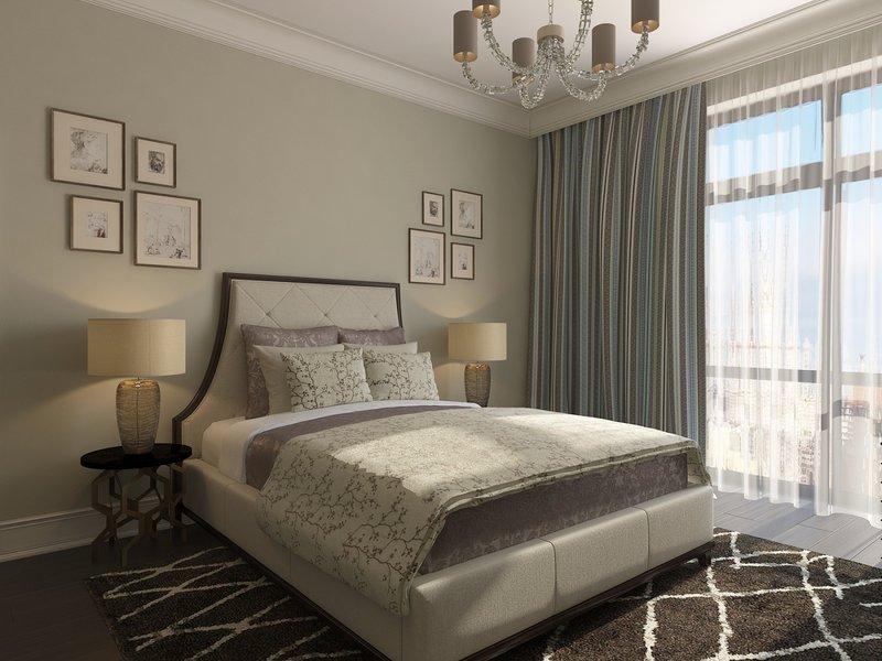Роскошь и стиль  Вторая спальня более нежная: здесь и цветочные принты, и легкие пастельные  тона, и даже другой сюжет гравюр.