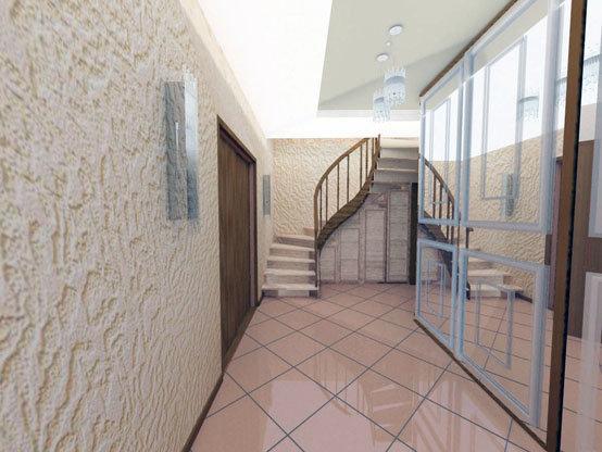 Дизайн винтовой лестницы на второй этаж дома зависит от выбранного стиля интерьера. Лестница может быть деревянной, металлической, стеклянной и даже каменной.