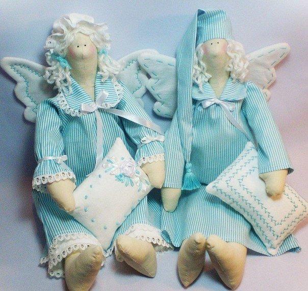 тильда спящий ангел картинки
