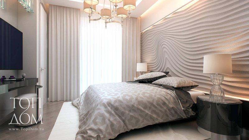 Модернистский дизайн спальни