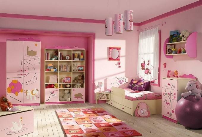 Подбор расцветок для детской комнаты