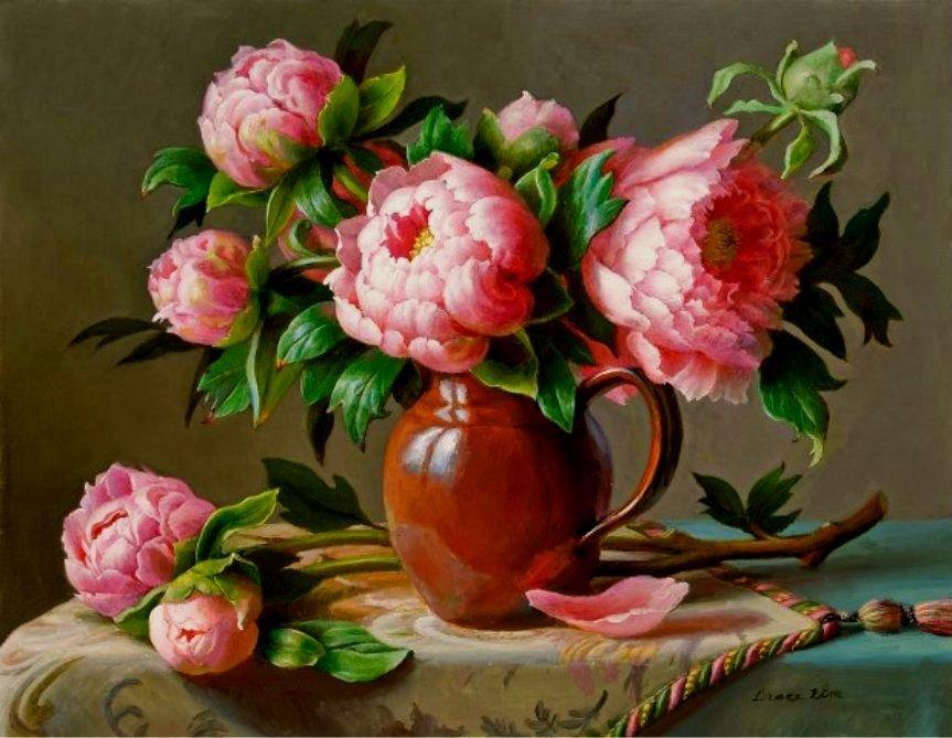 Скрапбукинг картинки летние натюрморты с цветами, днем