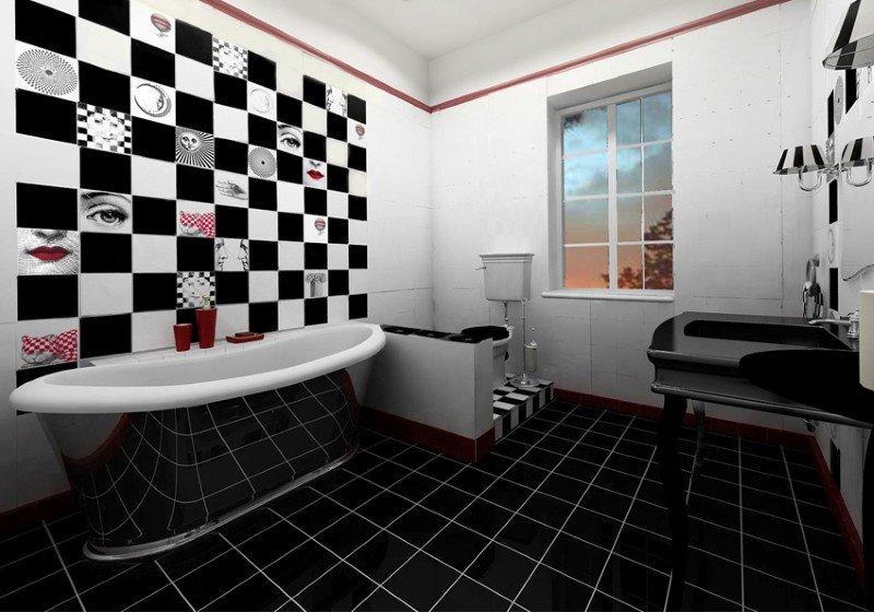 ванная комната для азартного мужчины