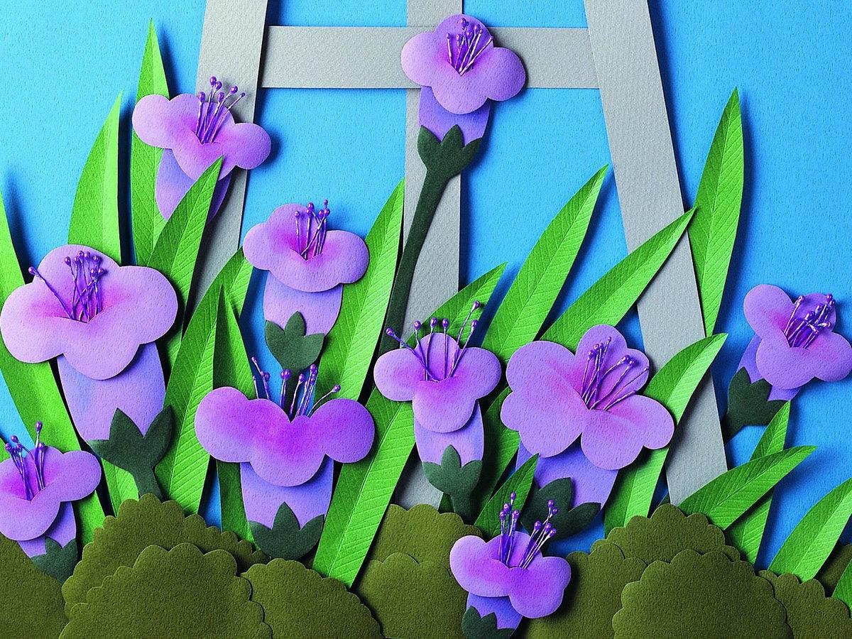 Открытка весенние цветы своими руками для ребенка, днем пожилого